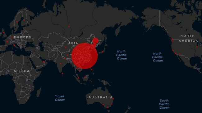 The coronavirus has killed at least 305 people and infected more than 14,300 globally as it continues spreading beyond China.