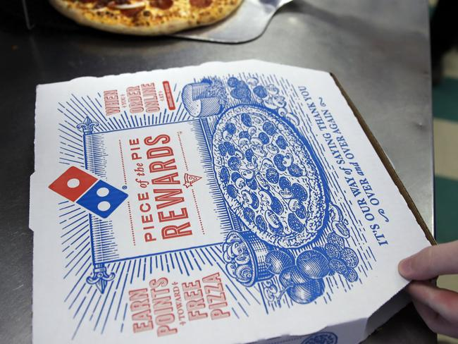 Domino's will be removing the Margherita from their menu from Monday. Picture: AP Photo/Charles Krupa.