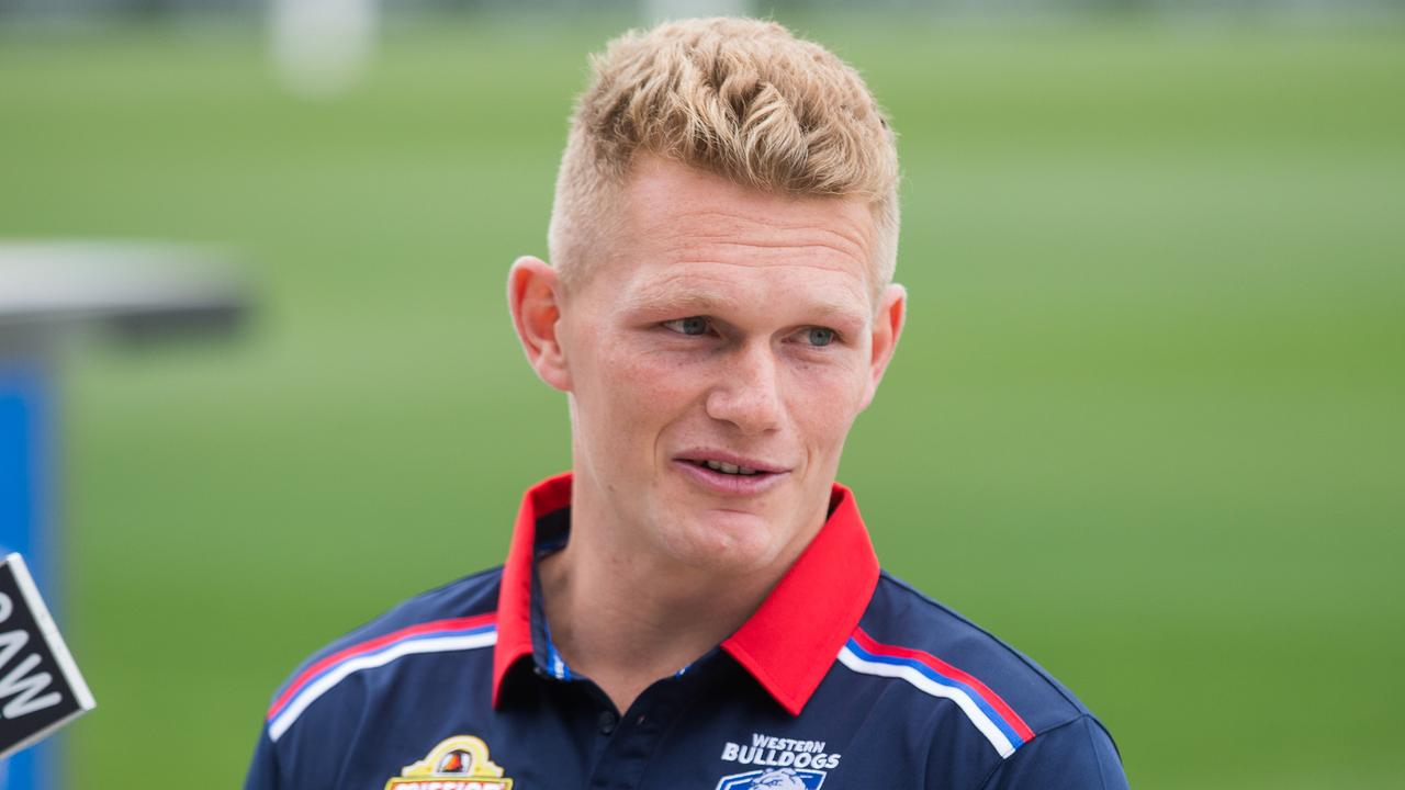 Adam Treloar moved from Collingwood to the Western Bulldogs (Picture: NCA NewsWire / Paul Jeffers).