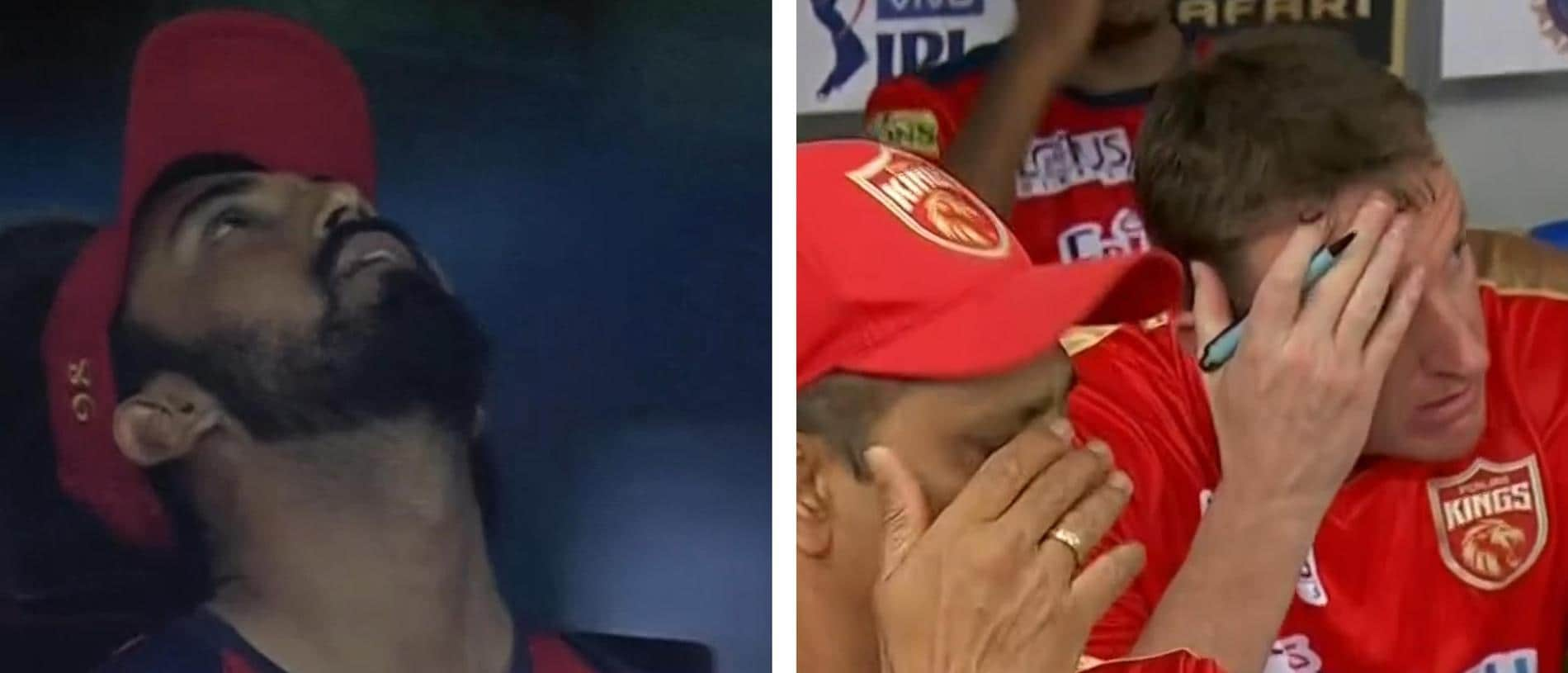 The Punjab Kings were stunned after collapsing in an all-time choke.