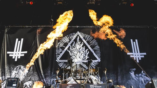 Polish band Behemoth performs live on stage during the Wacken Open Air. Picture: Gina Wetzler/Redferns/Getty