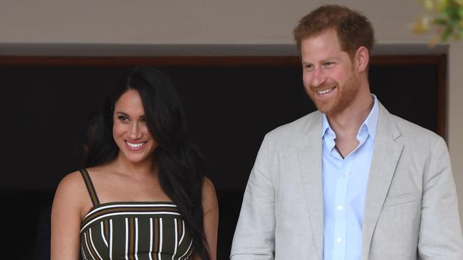 Harry and Meghan attend a reception for young people, community and civil society leaders during the royal tour of South Africa on September 24 in Cape Town, South Africa. Picture: Paul Edwards/Getty Images