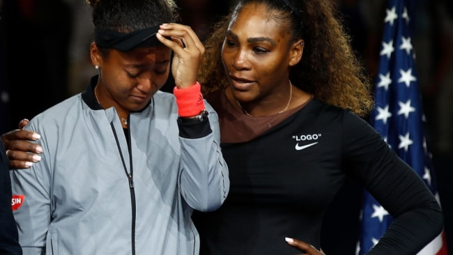 Williams' loss to Osaka at Flushing Meadows created headlines for all the wrong reasons. Image: Getty