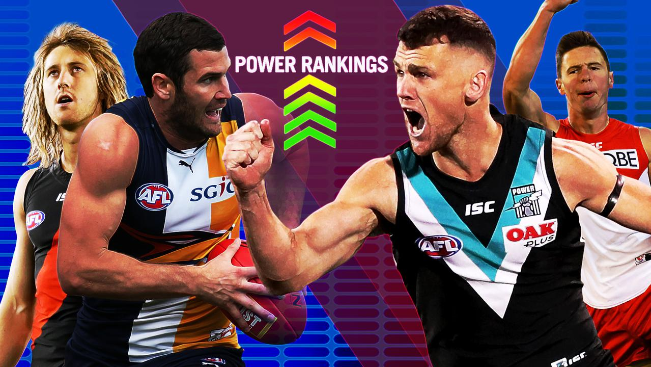 Where does your club rank in this week's Fox Footy Power Rankings?