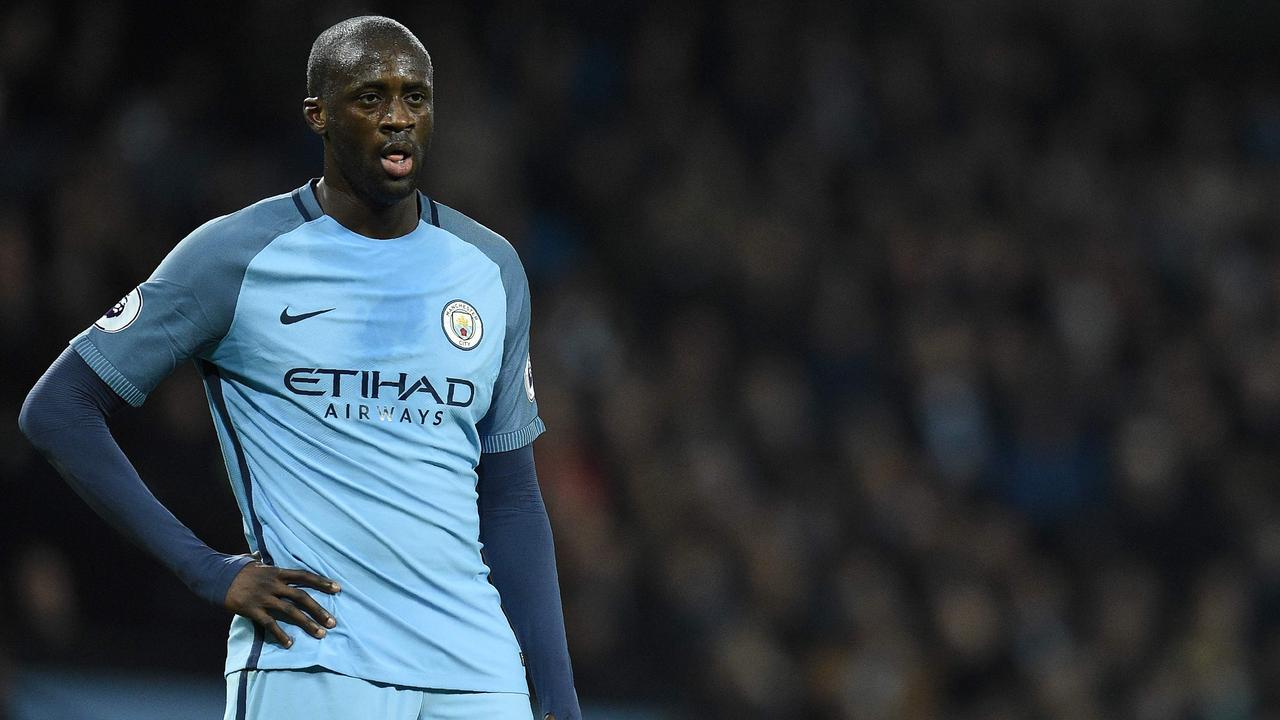 Yaya Toure left Manchester City in 2018.