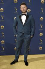 Bobby Berk arrives at the 70th Primetime Emmy Awards on Monday, Sept. 17, 2018, at the Microsoft Theater in Los Angeles. (Photo by Jordan Strauss/Invision/AP)