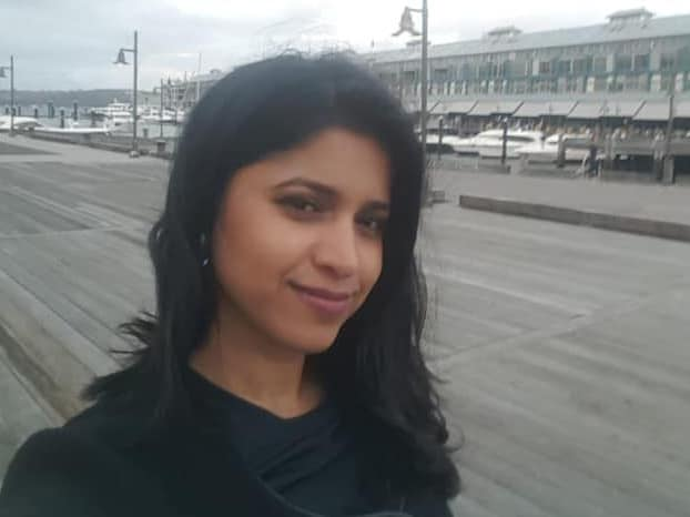 Preethi Reddy's body was found in a suitcase inside a parked car.
