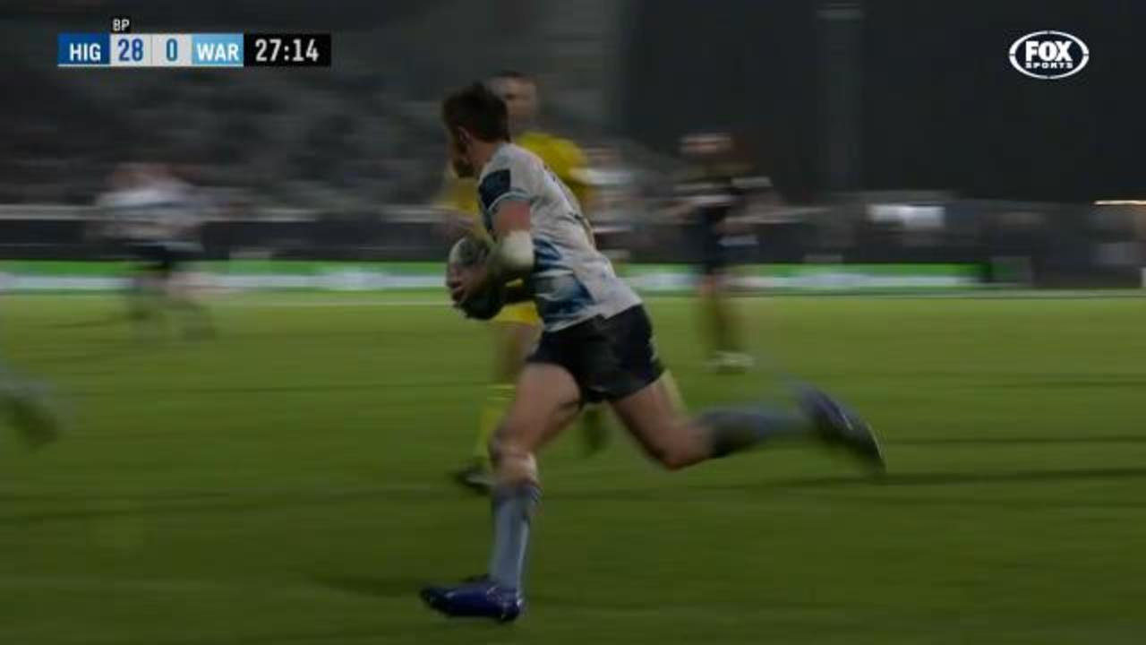 Tahs' snare classic try