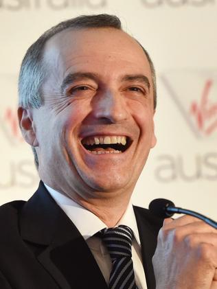 Virgin Australia chief executive John Borghetti. Picture: AFP