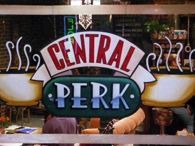 The iconic Central Perk Cafe has officially come to life in Manchester.
