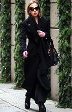Allegra Versace is seen on December 17, 2014 in Milan, Italy. Picture: Splash News