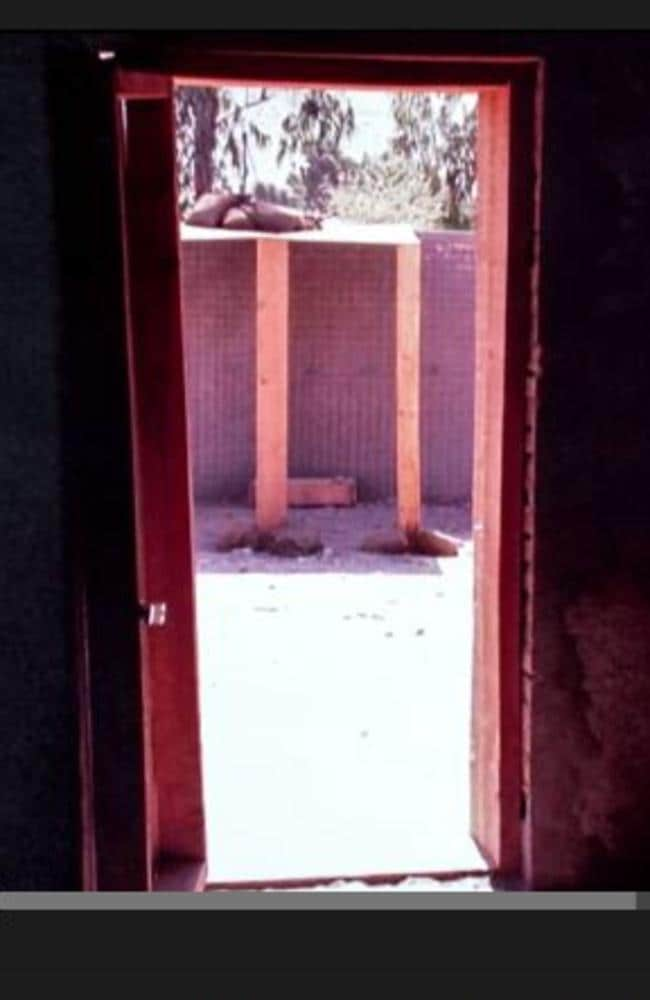 Doorway to hell: The spot where Wali died at a remote CIA base in Afghanistan