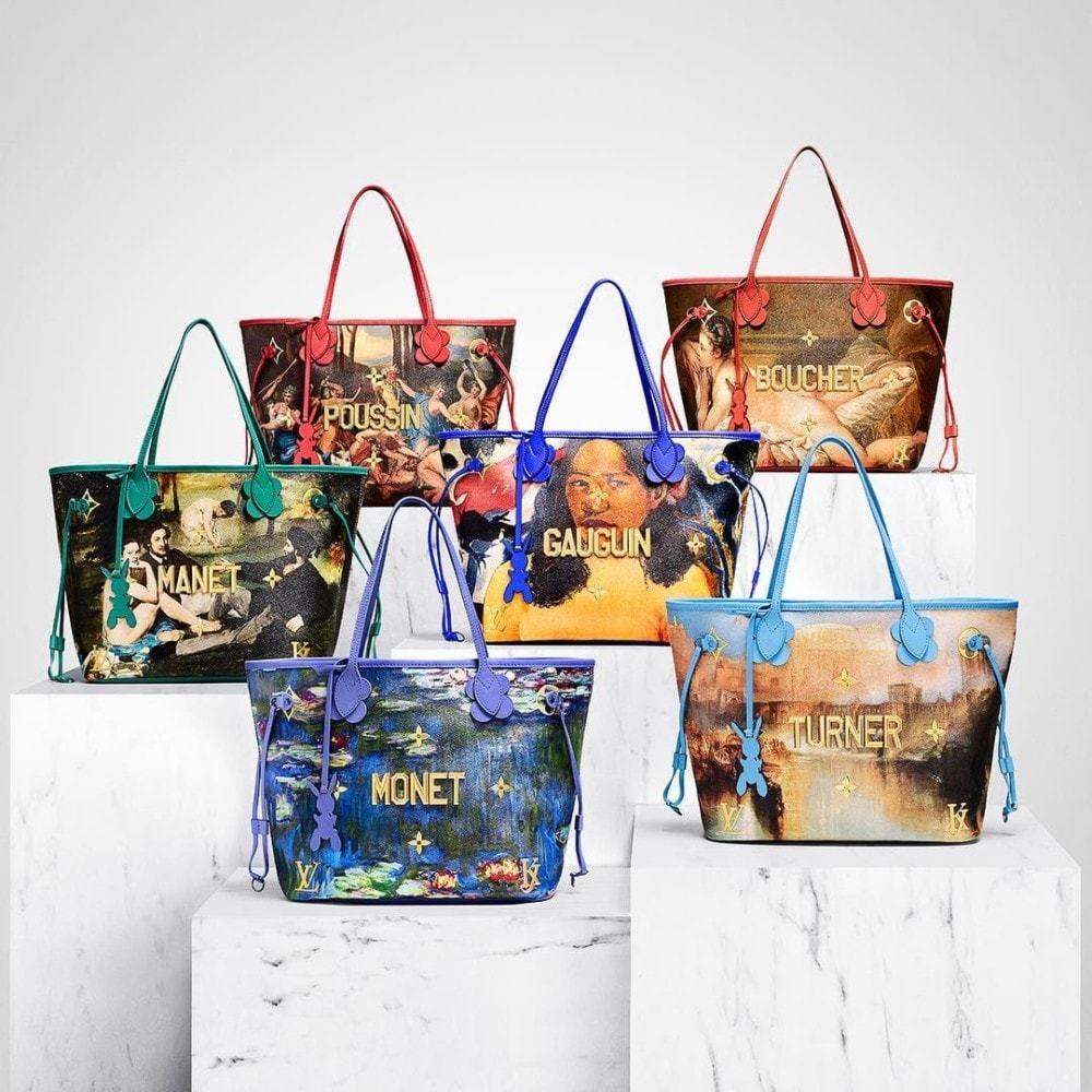 3cd28f8903f Louis Vuitton just announced a second collaboration with Jeff Koons ...