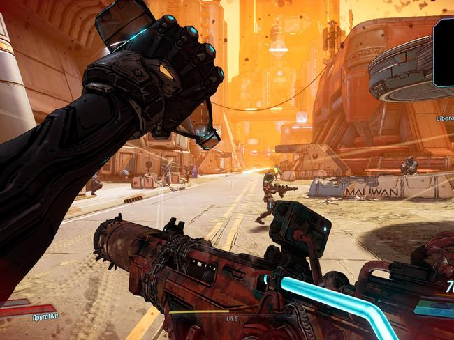 There is often a lot happening on screen in Borderlands 3. Picture: Supplied