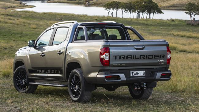 LDV has stacked the Trailrider with gear.