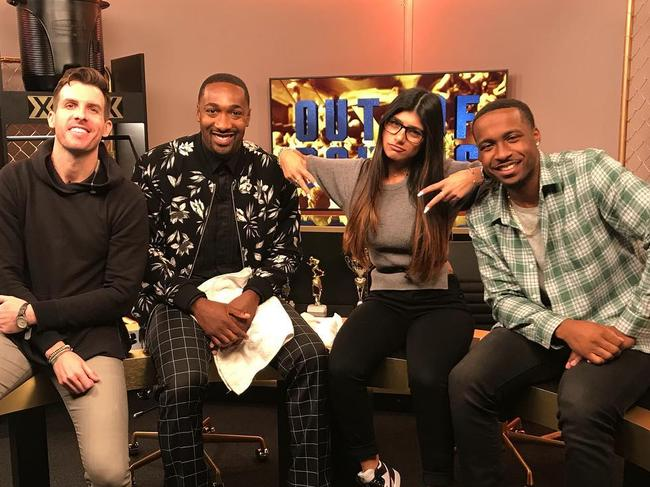 Mia Khalifa quit her role on Complex's Out Of Bounds with former NBA star Gilbert Arenas.