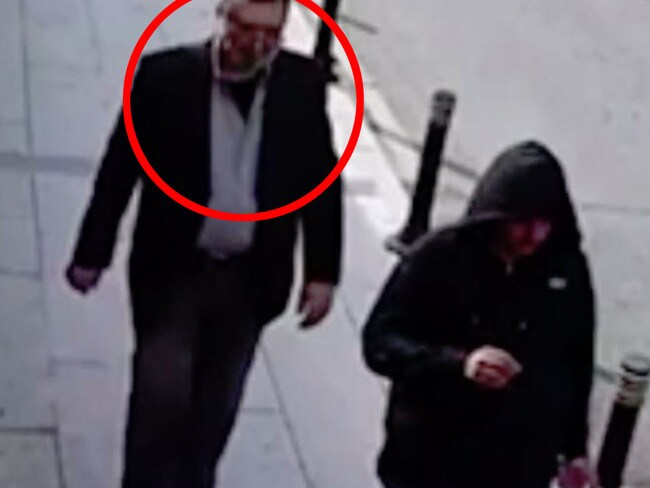 CNN aired surveillance video on Monday showing a man apparently wearing Khashoggi's dress shirt, suit jacket and pants.