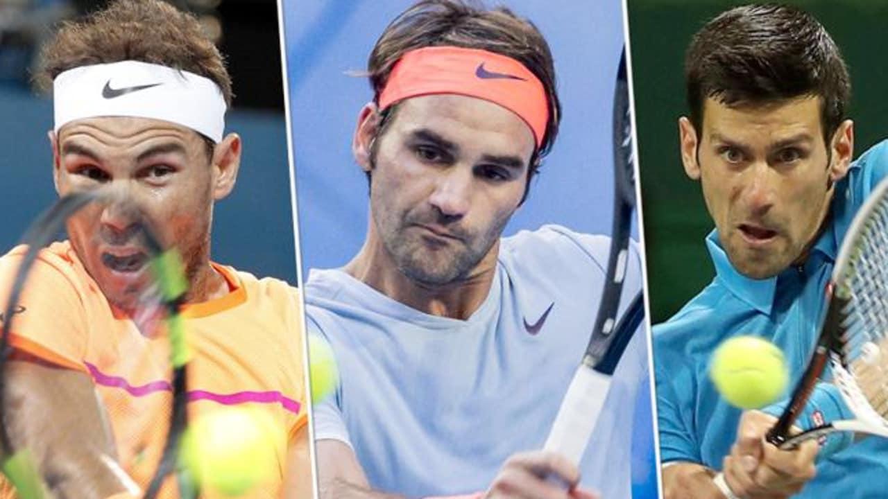 Atp Year End Rankings Novak Djokovic Rafael Nadal Roger Federer