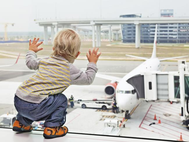 Many people think an international flight shouldn't be an all-ages affair.