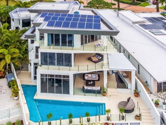 This Gold Coast home is being sold for bitcoin. Picture: Supplied