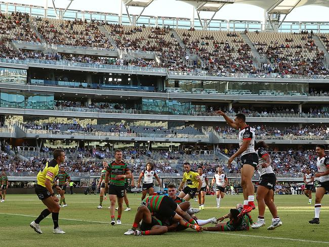 Perth showed it has an appetite for NRL action.