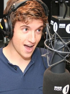 DJ Greg James. Picture: Supplied