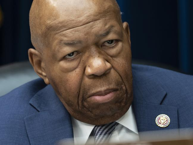 House Oversight and Reform Committee chairman Elijah Cummings. Trump attacked his district of Baltimore, saying 'no human being would want to live there'. Pic: AP