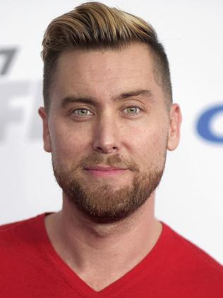 Lance Bass. Picture: AP