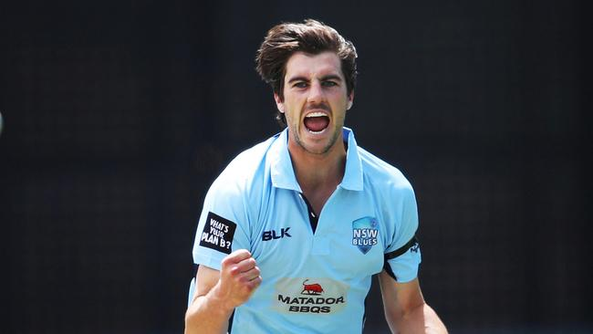 Pat Cummins will play for New South Wales on Sunday.