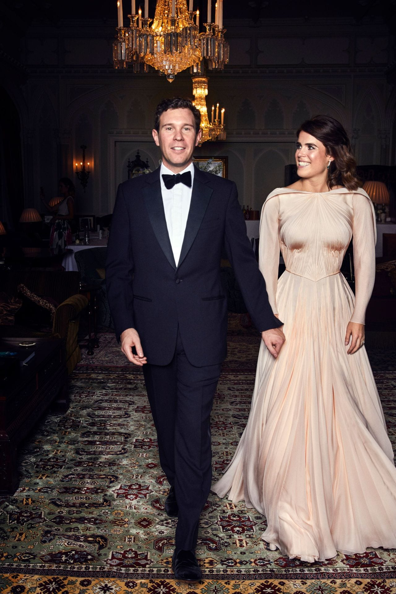 Zac Posen shares a never-before-seen photo of Princess Eugenie's reception gown