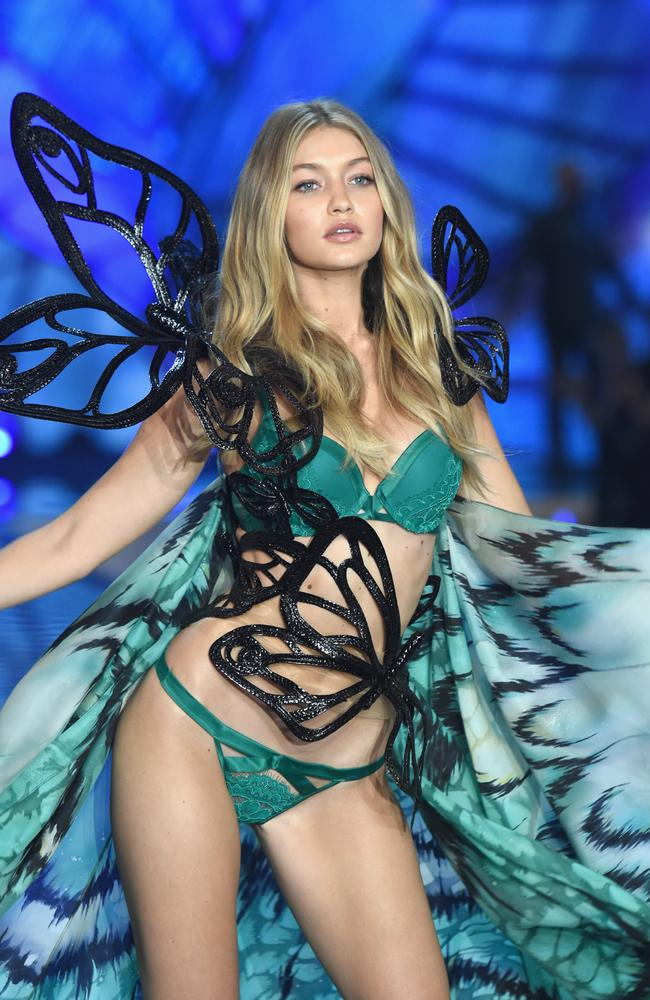 Model Gigi Hadid will be returning to the Victoria's Secret runway show later this year. Picture: Dimitrios Kambouris/Getty.