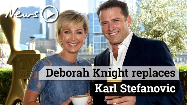 Deborah Knight to replace Karl Stefanovic on Today