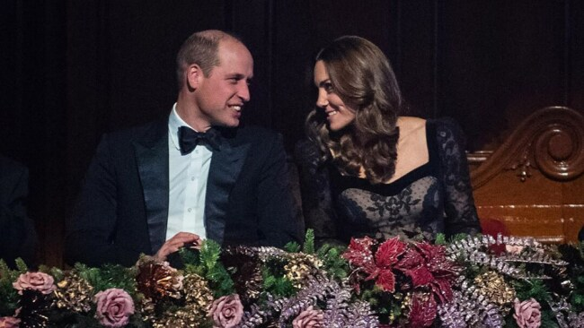 Prince William and Kate Middleton had an awkward start to the year. Source: Instagram