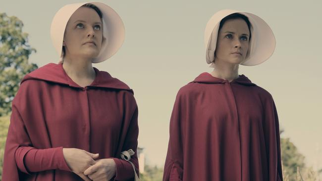 The Handmaid's Tale received a whopping 22 nominations, including individual nods for both Elisabeth Moss and Alexis Bledel. (Photo by: George Kraychyk/Hulu)