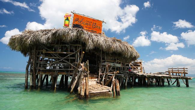 If you want to pour pints in a floating bar in the Caribbean, this job may be for you. Picture: PinPep/Cover Images/AAP