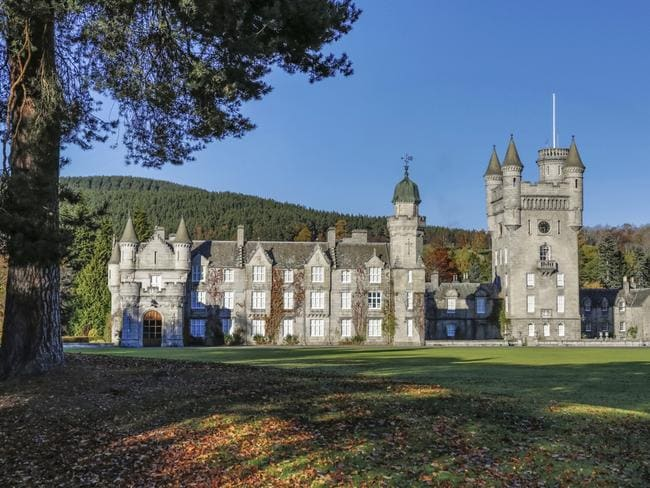 Balmoral is where the royals spend a chunk of their summer holidays as guests of the Queen.