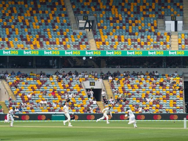 It wasn't a great look on day one of the Test match.