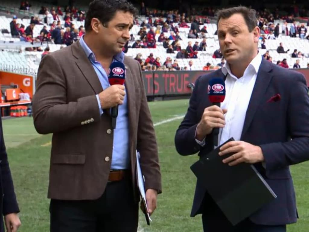 David King responds on Fox Footy.