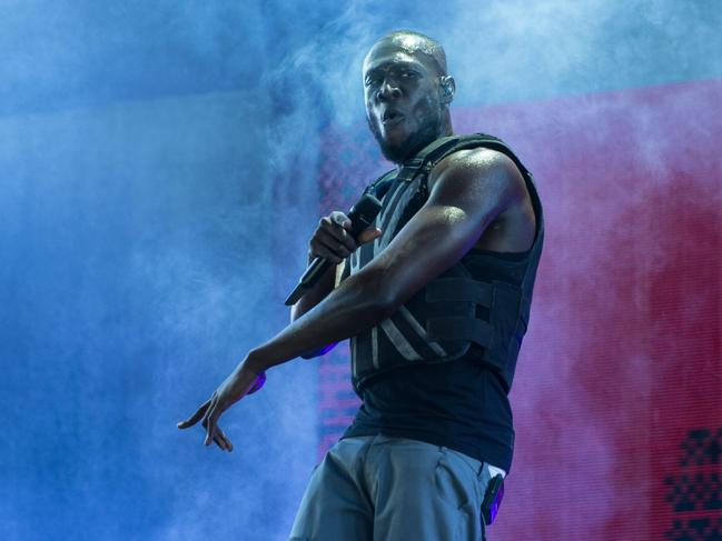 British rapper Stormzy said Britain is 'in denial' about its racism problem. Picture: Oli Scarff/AFP.