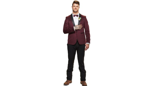 David, MAFS 2020 groom. Image: Channel Nine