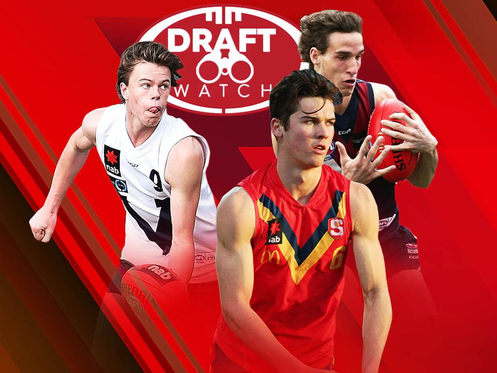Draft Watch: Oscar Brownless, Connor Rozee, Ben King.
