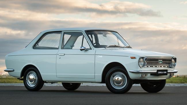 The original 1966 Toyota Corolla. Picture: Supplied.
