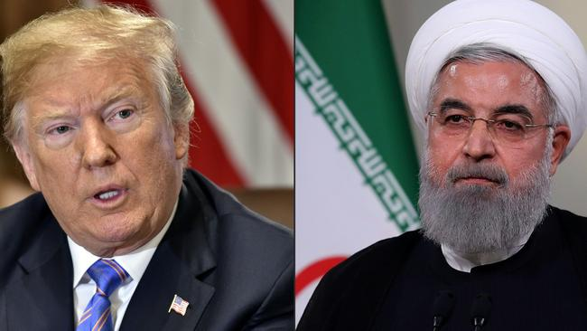 Tensions remain high between US President Donald Trump and Iranian President Hassan Rouhani.