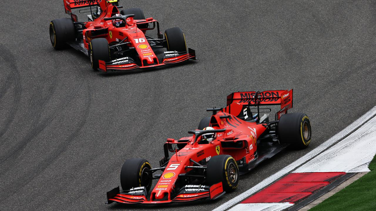 Leclerc was warned to speed up or let his teammate pass before being told the decision was made to let the German through.