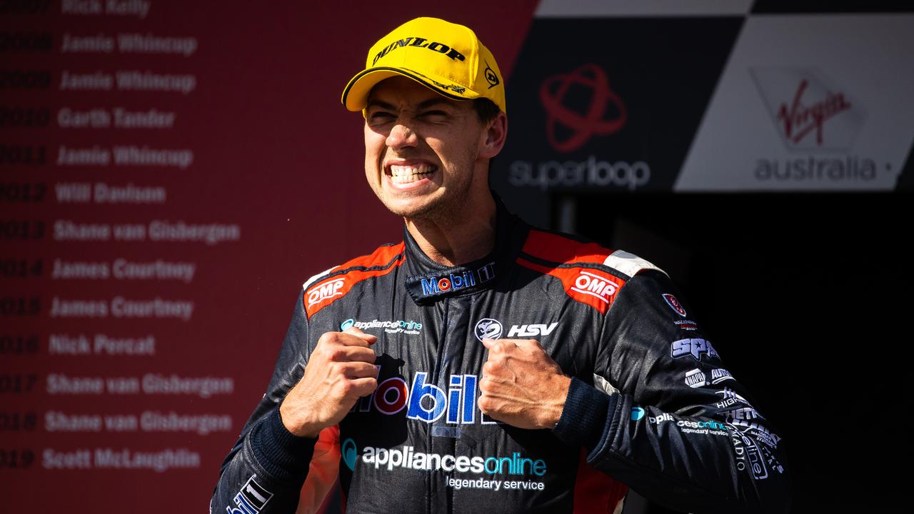 Reckon Chaz Mostert enjoyed his maiden Holden podium?