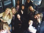 """Models depart for Paris for the 2016 Victoria's Secret Fashion Show on November 27, 2016 in New York City ... """"Angels are off to PARIS!"""" Picture: Instagram"""