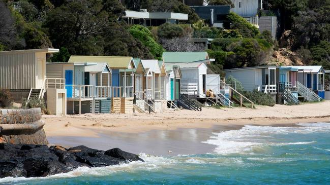 Beach boxes rarely come up for sale on Fishermans Beach.