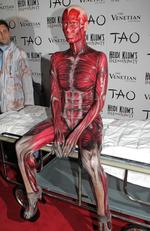 2011: A human body. Picture: Chris Weeks/WireImage