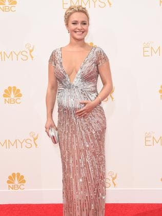 Hayden Panettiere attends the 66th Annual Primetime Emmy Awards.