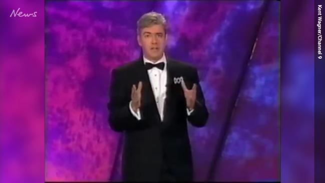 Shaun Micallef hosting the Logies in 2001